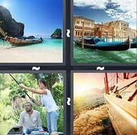 4 Pics 1 Word Boat