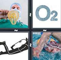 4 Pics 1 Word Oxygen