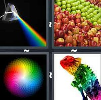 4 Pics 1 Word Spectrum