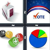 4 Pics 1 Word Election