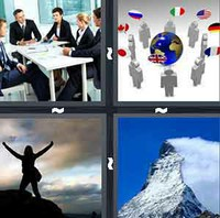 4 Pics 1 Word Summit