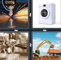4 Pics 1 Word Levels Machine