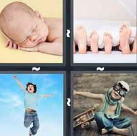 4 Pics 1 Word Levels Child