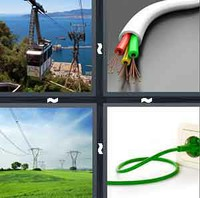 4 Pics 1 Word Levels Cable