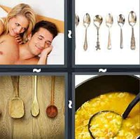 4 Pics 1 Word Levels Spoon