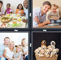 4 Pics 1 Word Levels Family