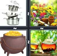 4 Pics 1 Word Levels Pot