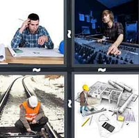 4 Pics 1 Word Engineer