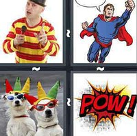 4 Pics 1 Word Comic