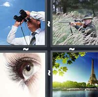 4 Pics 1 Word Sight