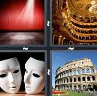 4 Pics 1 Word Theatre