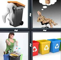 4 Pics 1 Word Recycle