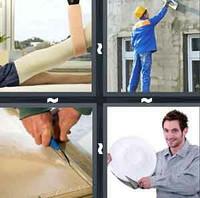 4 Pics 1 Word Plaster