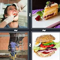 4 Pics 1 Word Filling