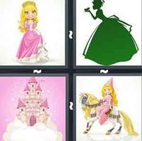 4 Pics 1 Word Princess