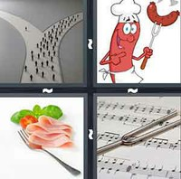 4 Pics 1 Word Levels Fork