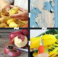 4 Pics 1 Word Levels Peeling