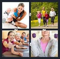 4 Pics 1 Word Fitness