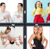 4 Pics 1 Word Levels Twins