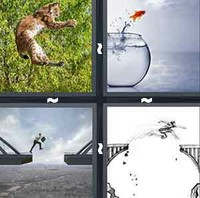 4 Pics 1 Word Leaping