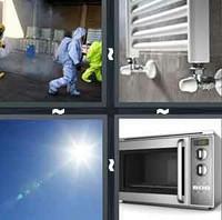 4 Pics 1 Word Radiate