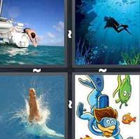 4 Pics 1 Word Levels Dive