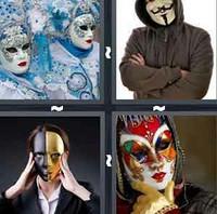 4 Pics 1 Word Levels Masked