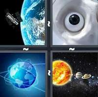4 Pics 1 Word Levels Orbit