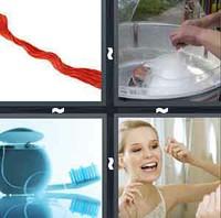 4 Pics 1 Word Levels Floss