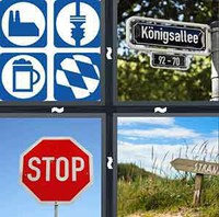 4 Pics 1 Word Levels Signpost