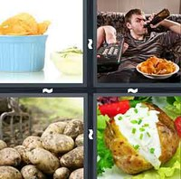 4 Pics 1 Word Levels Potato