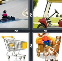 4 Pics 1 Word Levels Cart