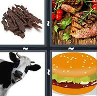 4 Pics 1 Word Levels Beef
