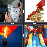 4 Pics 1 Word Levels Inflate