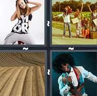 4 Pics 1 Word Groove