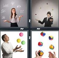 4 Pics 1 Word Juggle