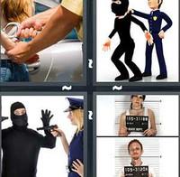 4 Pics 1 Word Arrest