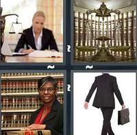 4 Pics 1 Word Lawyer