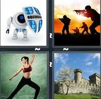 4 Pics 1 Word Defend