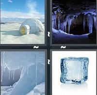 4 Pics 1 Word Frozen