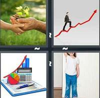 4 Pics 1 Word Growth