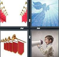 4 Pics 1 Word Herald