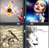 4 Pics 1 Word Song