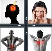 4 Pics 1 Word Pain