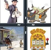 4 Pics 1 Word Bandit