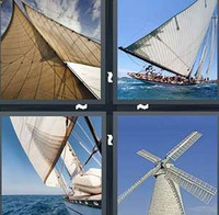 4 Pics 1 Word Levels Sail
