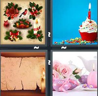 4 Pics 1 Word Candle