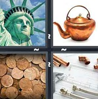 4 Pics 1 Word Copper
