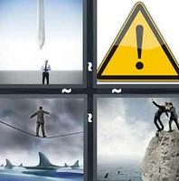 4 Pics 1 Word Danger