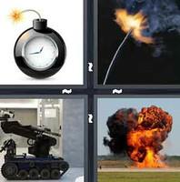 4 Pics 1 Word Detonate